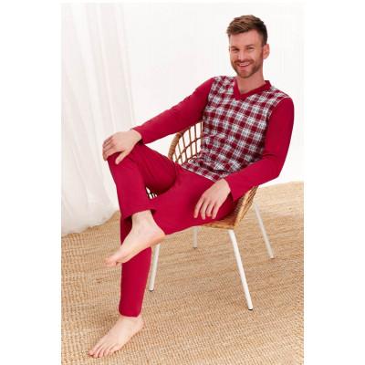 Мужская хлопковая пижама Roman