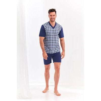 Мужской комплект Roman с принтованной футболкой