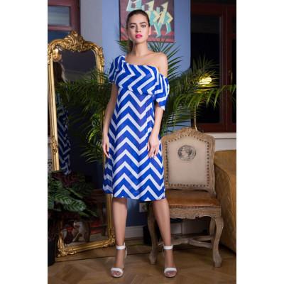 Пляжное платье Carlin с воланом по плечам