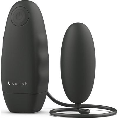 Черное виброяйцо Bnaughty Classic