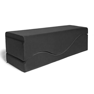 Черная вельветовая подушка для любви Liberator Retail Equus Wave