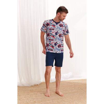 Мужская хлопковая пижама Piotr
