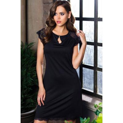 Элегантная сорочка Elegance de lux с кружевами