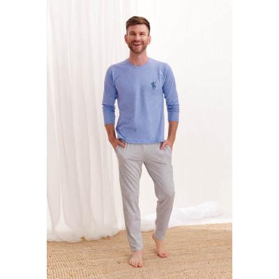 Мужская хлопковая пижама Karol