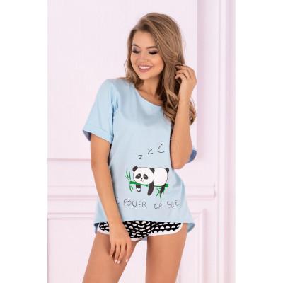 Оригинальная пижама Mrs.Panda с шортиками