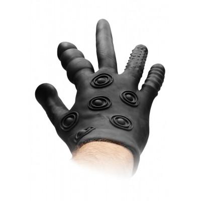 Черная стимулирующая перчатка Stimulation Glove