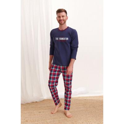 Мужская хлопковая пижама Leo