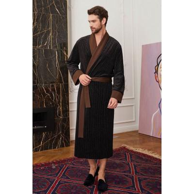 Домашний халат в классическом стиле