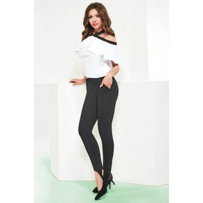 Женские легинсы-брюки Andrea с кармашками